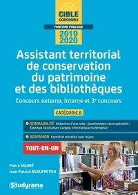 Assistant territorial de conservation du patrimoine et des bibliothèques - Concours externe, interne et 3e concours, catégorie B.pdf