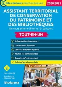 Pierre Maubé et Jean-Patrick Beaufreton - Assistant territorial de conservation du patrimoine et des bibliothèques.