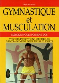 GYMNASTIQUE ET MUSCULATION. Exercices pour poitrine et dos.pdf