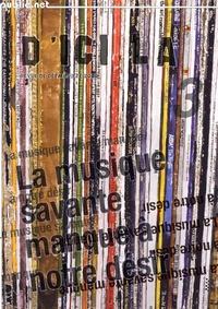 Pierre Ménard - d'ici là n°3 | La musique savante manque à notre désir - revue trimestrielle de création numérique.