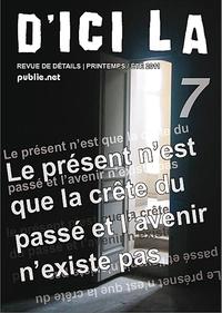 Pierre Ménard - d'ici là, n°7 - collectif dirigé par Pierre Ménard, 42 auteurs, epub avec audio et photographies.