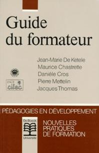 Pierre Mettelin et Jacques Thomas - Guide du formateur.