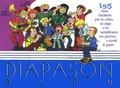 Pierre-Michel Gambarelli - Diapason Bleu - Carnet de 195 chants avec partitions et accords sélectionnés par les Scouts et Guides de France.