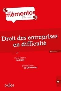 Pierre-Michel Le Corre et Emmanuelle Le Corre-Broly - Droit des entreprises en difficulté.