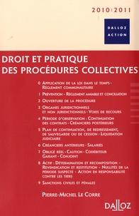 Histoiresdenlire.be Droit et pratique des procédures collectives 2010-2011 Image