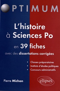 Openwetlab.it L'histoire à Sciences Po en 39 fiches avec des dissertations corrigées Image