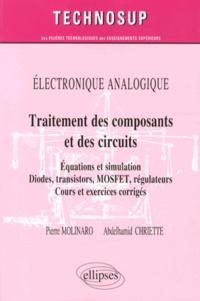 Traitement des composants et des circuits - Equations et simulation, diodes, transistors, MOSFET, régulateurs.pdf