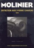 Pierre Molinier - Entretien de Pierre Molinier avec Pierre Chauveau.. 1 CD audio