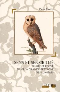 Deedr.fr Sens et sensibilité - Pensée et poésie dans la Grande-Bretagne des Lumières Image