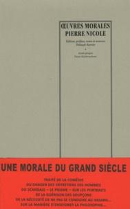 Pierre Nicole - Oeuvres morales.