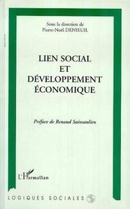 Pierre-Noël Denieuil - Lien social et développement économique.