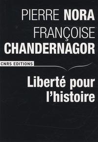 Liberté pour l'histoire - Pierre Nora | Showmesound.org