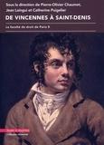 Pierre-Olivier Chaumet et Jean Laingui - De Vincennes à Saint-Denis - La faculté de droit de Paris 8.