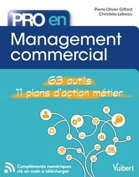 Pierre-Olivier Giffard et Christelle Lebeau - Pro en... Management commercial - 62 outils - 11 plans d'action.