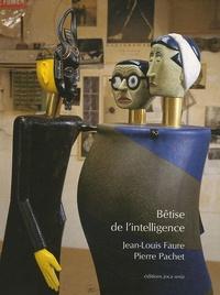 Pierre Pachet et Jean-Louis Faure - Bêtise de l'intelligence.