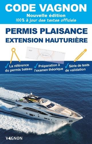 Code Vagnon permis plaisance. Extension hauturière  Edition 2021