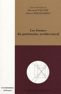 Pierre Pellegrino et Bernard Pagand - Les formes du patrimoine architectural.