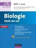 Pierre Peycru et Didier Grandperrin - Biologie tout-en-un BCPST 1re année.