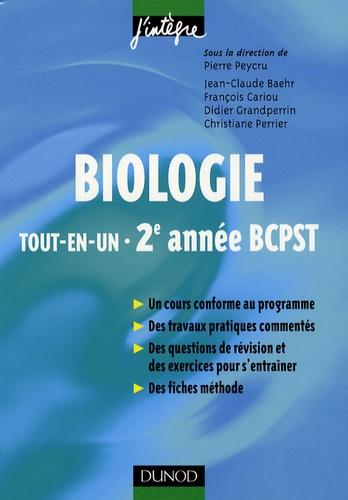 Biologie tout-en-un BCPST 2e année
