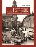 Pierre Poncet - La grande histoire des rues de Lunéville.