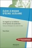 Pierre Potvin - Elève à risque d'échec scolaire - Un regard sur la résilience et les facteurs de protection.
