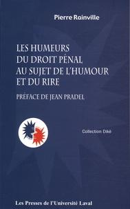 Pierre Rainville - Les humeurs du droit pénal au sujet de l'humour et du rire.