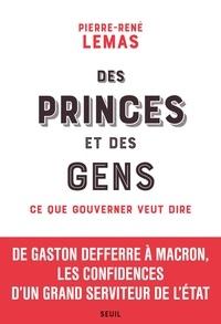 Meilleurs téléchargements d'ebook gratuits Des princes et des gens  - Ce que gouverner veut dire
