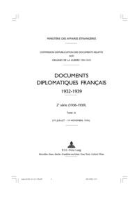 Documents diplomatiques français 1932-1939 - Tome 3 (19 juillet - 19 novembre 1936).pdf