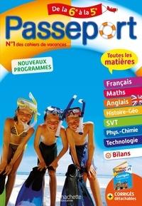 Pierre Reynaud et Carole Bonnet - Passeport Toutes les matières de la 6e à la 5e.