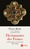 Pierre Riché - Dictionnaire des Francs - Les Mérovingiens et les Carolingiens.