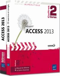 Pierre Rigollet - Access 2013 - Coffret de 2 livres : le manuel de référence + le cahier d'exercices.