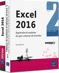 Accentsonline.fr Excel 2016 - Apprendre et exploiter de gros volumes de données, 2 volumes Image