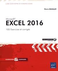 Deedr.fr Excel 2016 - 105 exercices et corrigés Image
