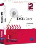 Pierre Rigollet - Excel 2019 - Coffret de 2 livres : Le Manuel de référence ; Le Cahier d'exercices.