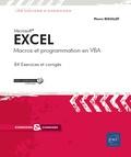Pierre Rigollet - Excel - Macros et programmation en VBA.