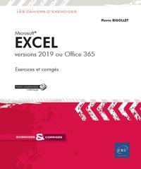 Pierre Rigollet - Excel - Versions 2019 ou Office 365.
