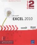 Pierre Rigollet et  Editions ENI - Microsoft Excel 2010 - Coffret de 2 livres : le manuel de réference et le cahier d'exercices.