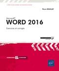 Pierre Rigollet - Word 2016.