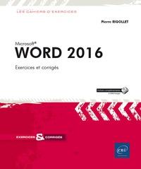 Word 2016 - Pierre Rigollet pdf epub