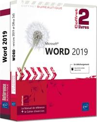 Pierre Rigollet - Word (versions 2019 et Office 365) - Coffret de 2 livres : Le manuel de référence + le cahier d'exercices.