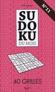 Sudoku du mois N° 11- 40 grilles - Pierre Ripert | Showmesound.org