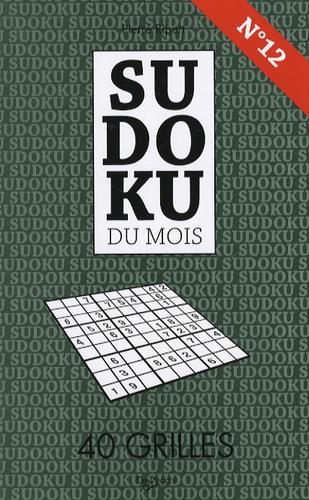 Pierre Ripert - Sudoku du mois N° 12 - 40 grilles.