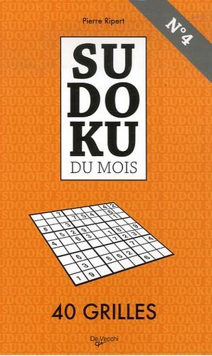 Pierre Ripert - Sudoku du mois N° 4 - 40 Grilles.