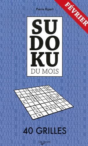 Pierre Ripert - Sudoku du mois - Février, 40 grilles.
