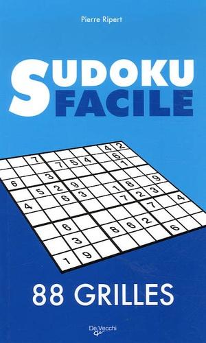 Pierre Ripert - Sudoku facile - 88 grilles.