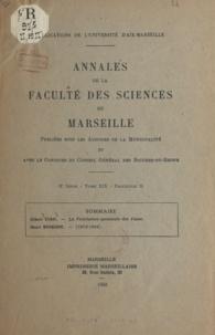 Pierre Rouard et Albert Tian - La ventilation spontanée des vases - Suivi de Henri Buisson, 1873-1944.