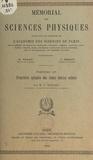 Pierre Rouard et  Académie des sciences de Paris - Propriétés optiques des lames minces solides.