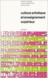Pierre Roubertoux et Robert Francès - Culture artistique et enseignement supérieur : la structure des intérêts artistiques de loisirs chez les étudiants.