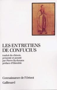 Les Entretiens de Confucius - Pierre Ryckmans |