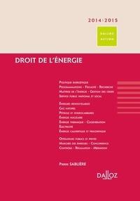 Pierre Sablière - Droit de l'énergie.
